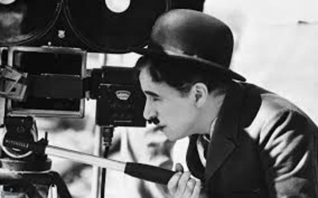 Charlie Chaplin becomes the first entertainer to earn $1 million