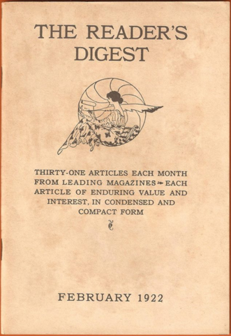 Reader's Digest magazine founded
