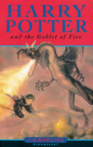 Half of Harry Potter and the Goble of Fire