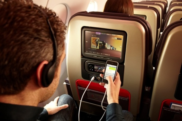 New in flight improvements on airplanes