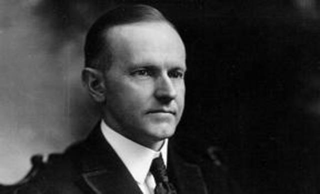 Harding dies and Coolidge becomes President