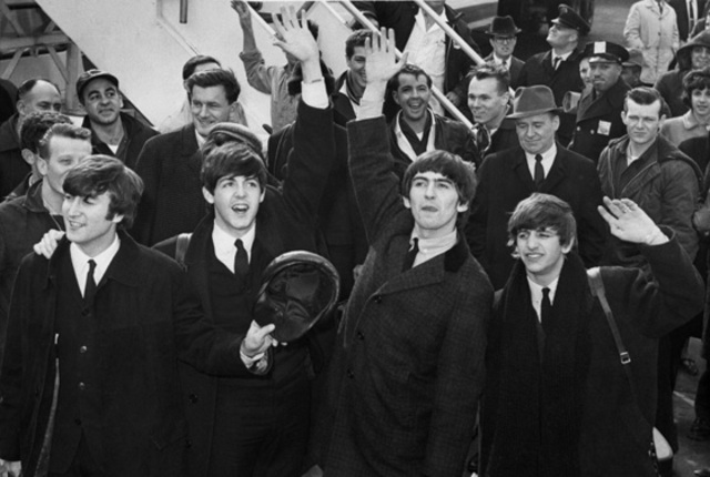 The Beatles first tour America