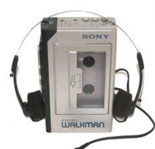 Sony Walkman appears in Japan