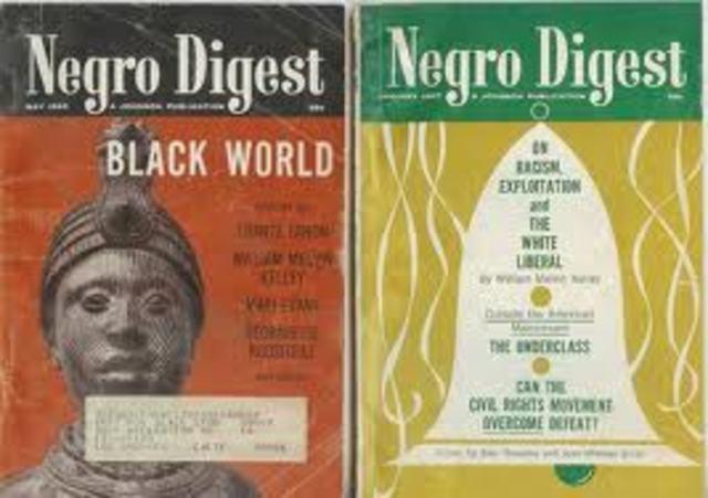 John H. Johnson starts Negro Digest; would later found Ebony and Jet