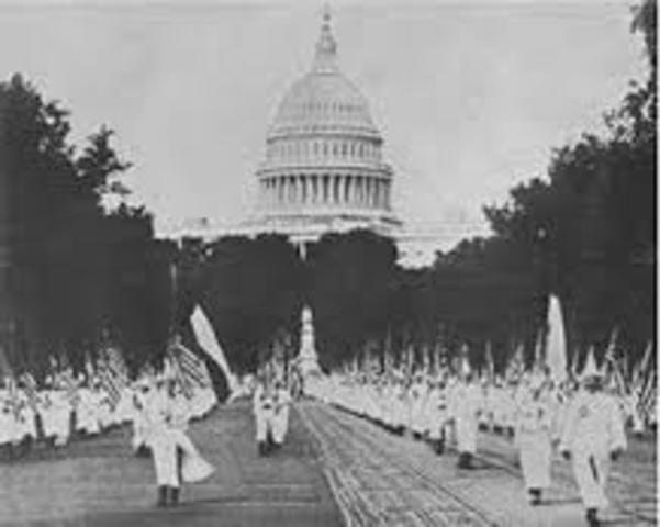 KKK Reemerge