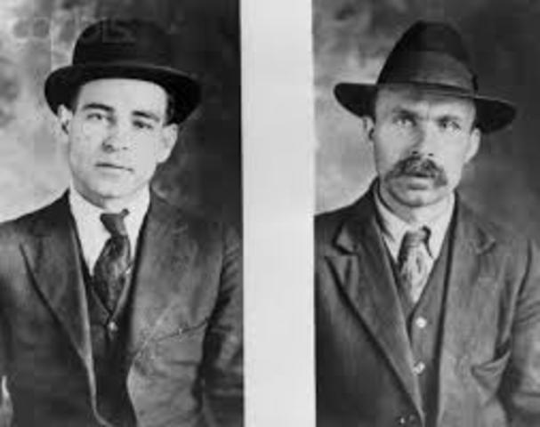 Trial of Ferdinando Nicola Sacco and Bartolomeo Vanzetti