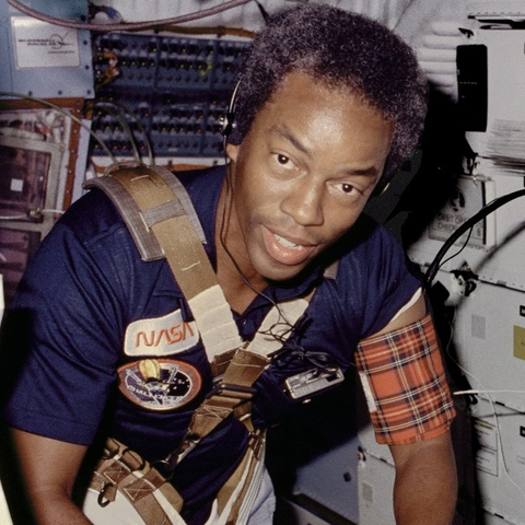 1st African-American to go into space