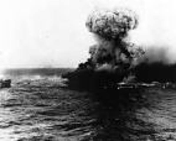 The Battle of the Coral sea and Japan's setback