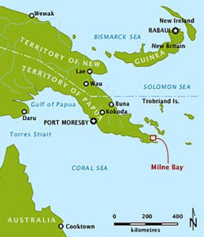 Battle of Milne Bay (25th Aug-7Sept)