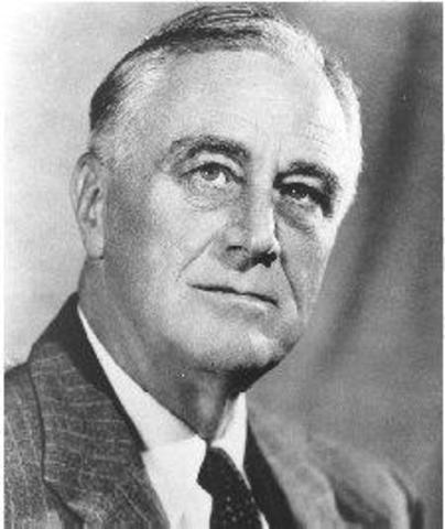 Franklin D. Rooselvelt as President