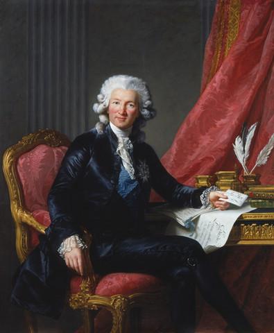 Charles de Calonne Dismissed
