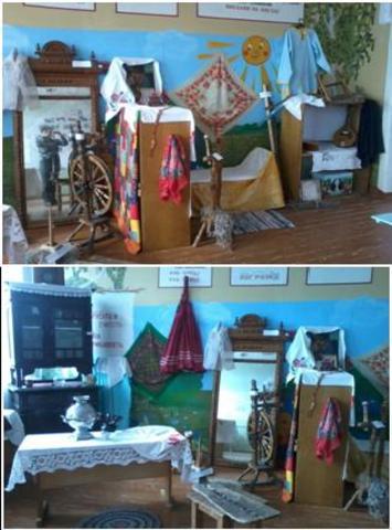 В феврале 2014 года в нашей школе произошло торжественное открытие школьного музея «Моя малая Родина»