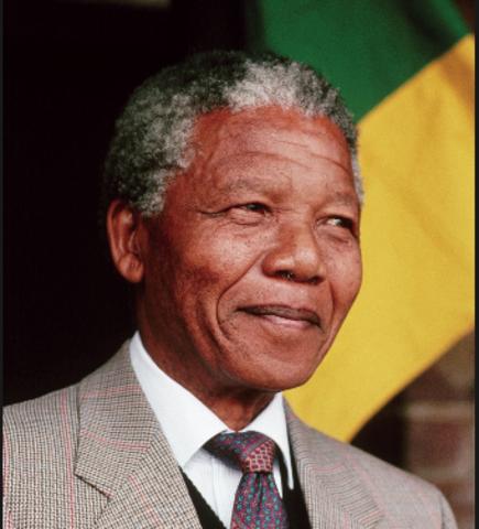 Nelson Mandela Helps to End Apartheid