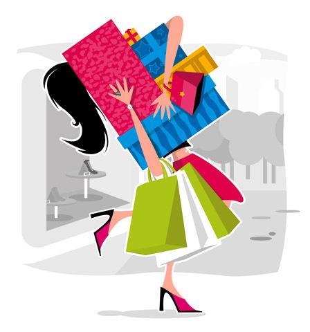 Cuando yo tenía dieciséis años, yo iba de compras, yo trabajaba, y yo estudiaba.