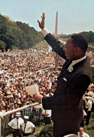 Martin luther king was born
