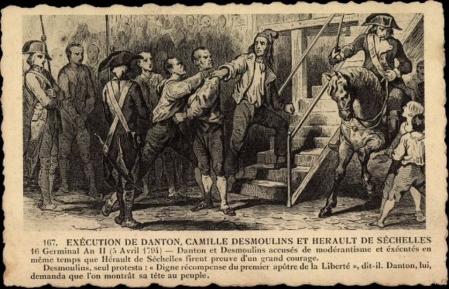 Georges Danton Executed
