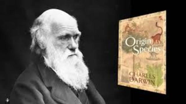 Darwin hace pública su teoría sobre la evolución de las especies.