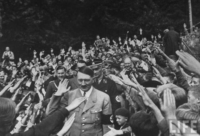 Nazis began to take power.