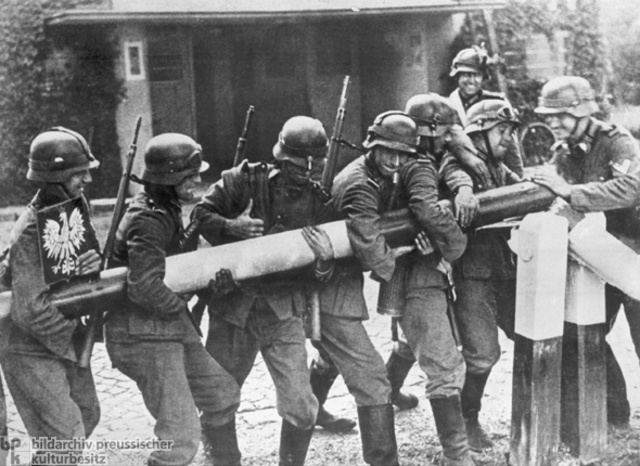World War II began