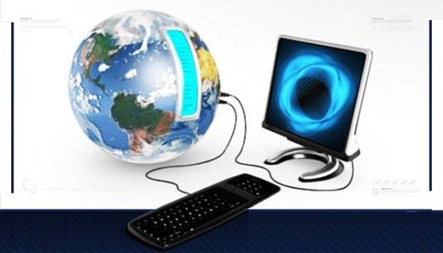 Интернет - самое поопулярное средство для обмена информацией