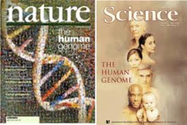 La empresa Celera publica la secuenciación del genoma en la revista 'Science'.