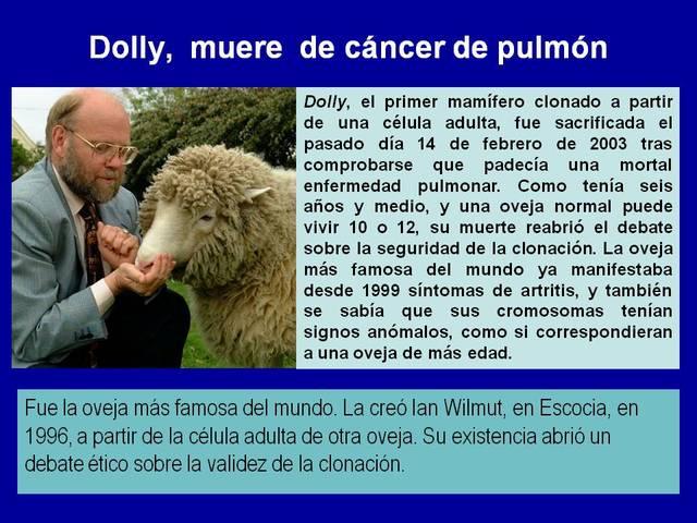 Muerte de Dolly