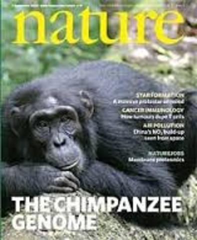 secuencia del genoma del chimpace