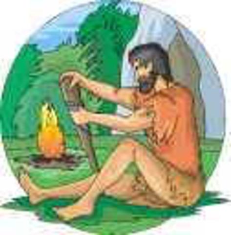 500 000 a.C. Descubrimiento del fuego