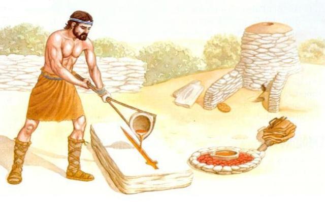 3000 a.C Edad del Bronce y Cobre
