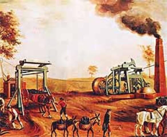 1 760 d. C. Inicio de la Revolución Industrial