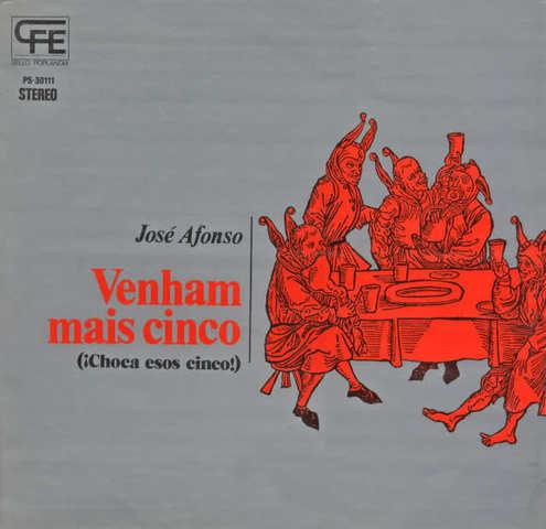 LP: VENHAM MAIS CINCO