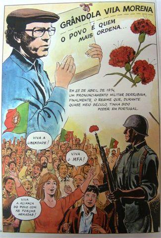Grândola Vila Morena dá início à revolução