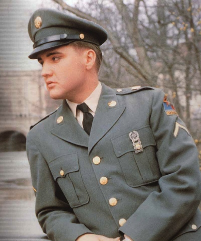 Elvis' Entry Into the Army