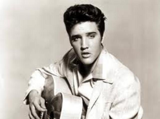 Discovery of Elvis Presley
