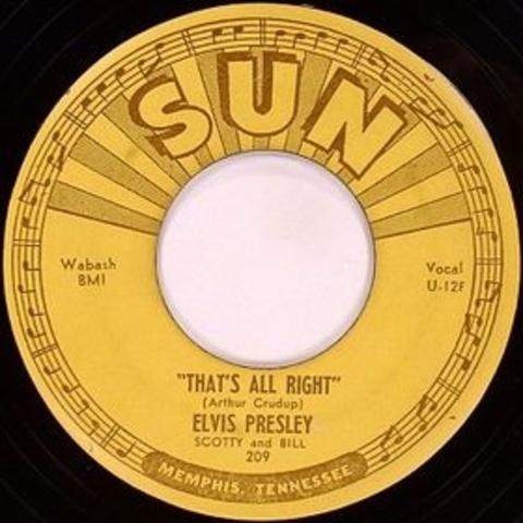 Elvis' First Single