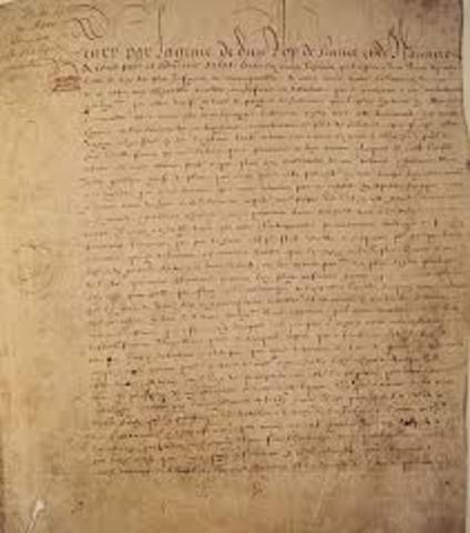 The Edict of Nantes
