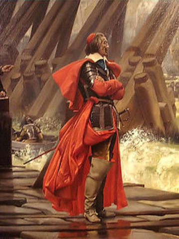 Cardinal Richelieu is appointed minister