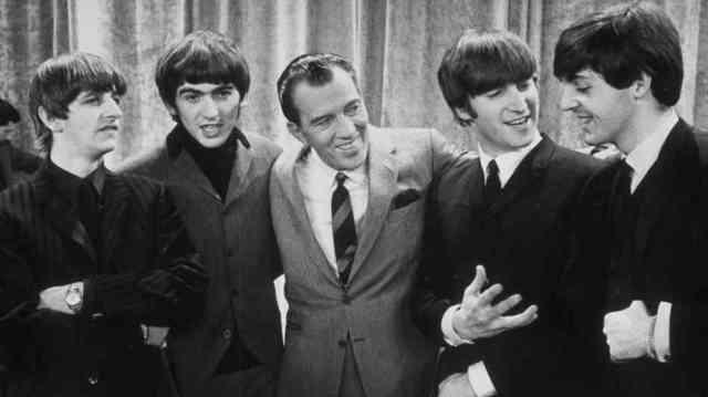The Beatles on Ed Sullivan Show
