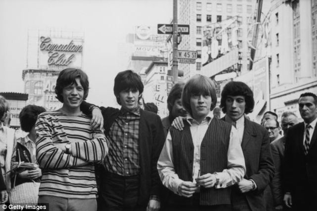 The Rolling Stones Arrive in America