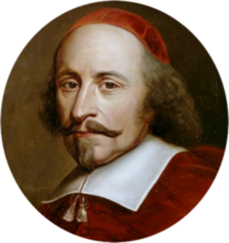 Cardinal Mazarin becomes Chief Minister