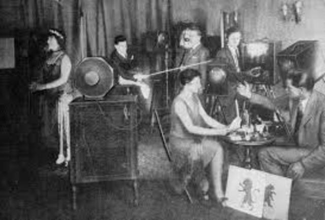 First TV studio opened