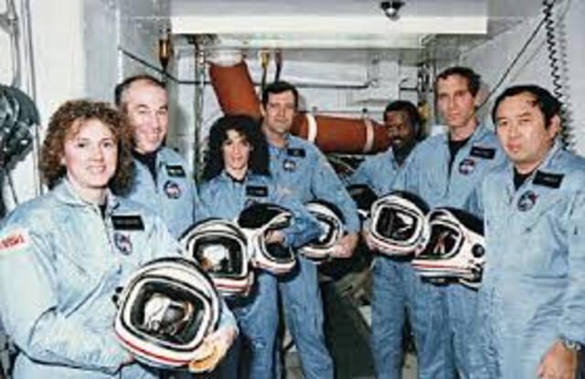 NASA Challenger Space Watch