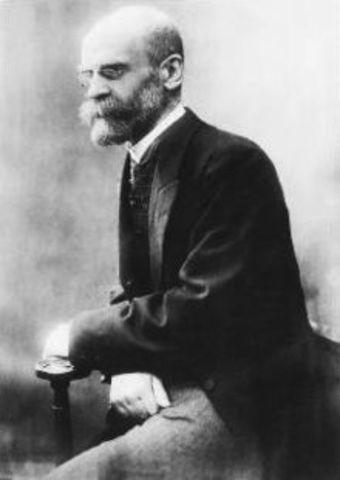 Durkheim: División social del Trabajo