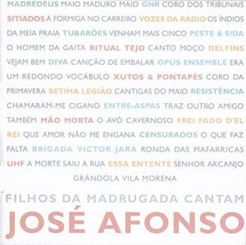 Edição do disco de homenagem «Filhos da Madrugada Cantam José Afonso»