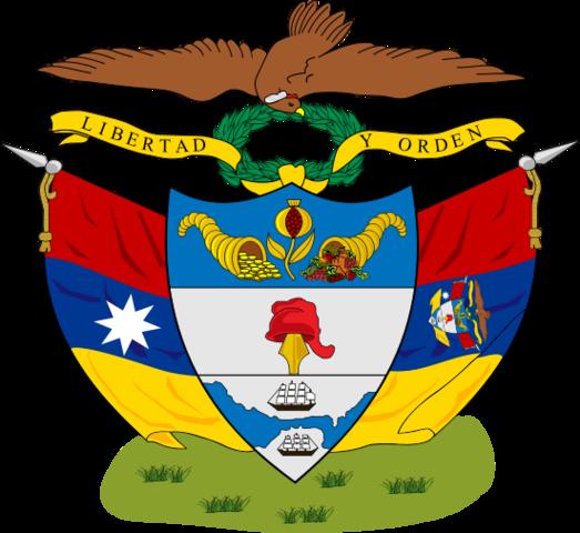 Colombia/ Nueva Grenada adopts the name Granadine Confederation