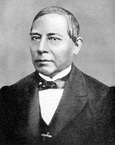 Benito Juarez restores order in Mexico