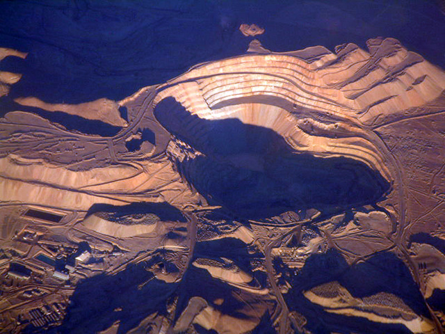 Chile supplies approximately 40% of the copper traded in the world