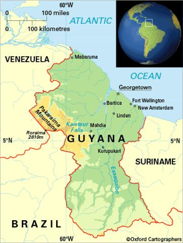 Gold boom in Guyana
