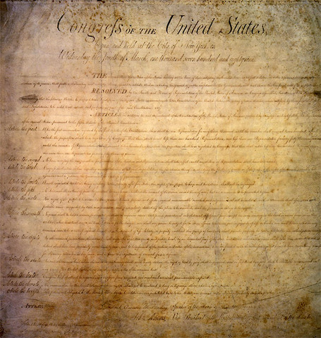 Bill of Rights was added to the Constitution