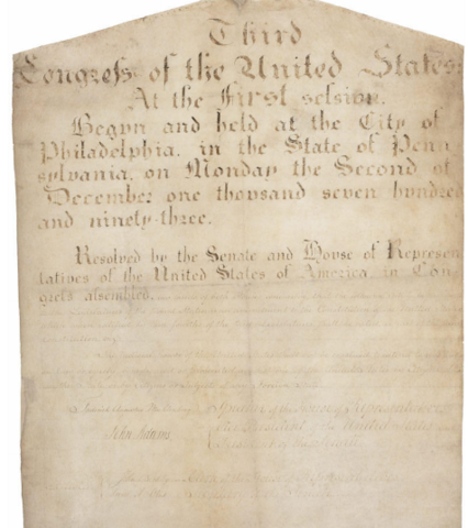 The 11th Amendment was ratified